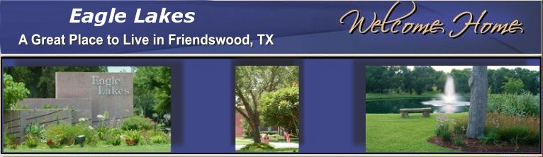 Eagle Lakes HOA - A Friendswood Texas Community Home Owners Association